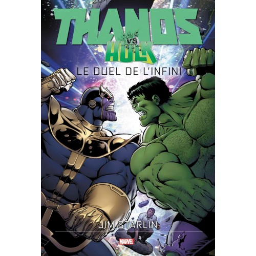 THANOS VS HULK (VF) cartonné