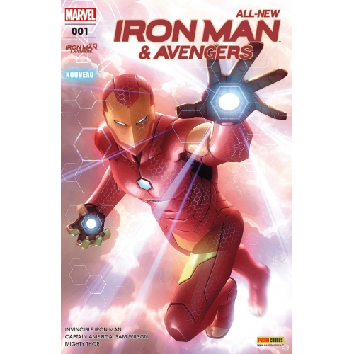 All-new iron Man & Avengers nº1 (VF)