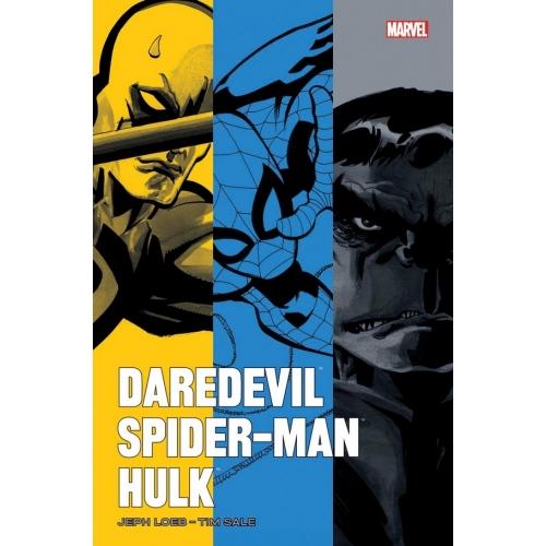 Daredevil / Spider-Man / Hulk par Loeb et Sale (VF)