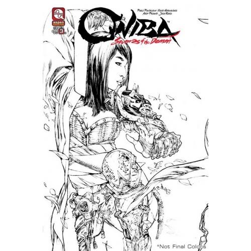 Oniba : Sword of the demon 3 EBAS Variant Comics (VO)