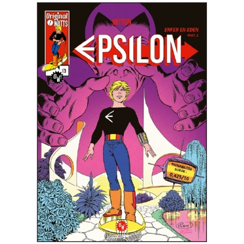 Epsilon : Enfer en Eden tome 1 (VF)