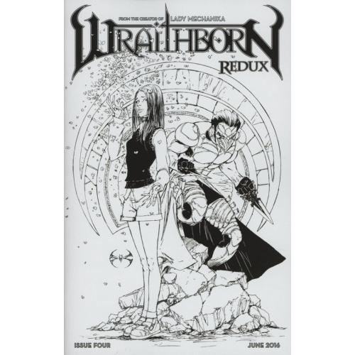 Wraithborn Redux 4 Retailer Incentive Cover (VO)