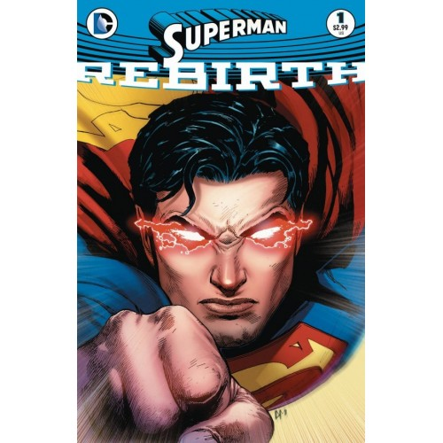 Superman Rebirth 1 (2nd Print)