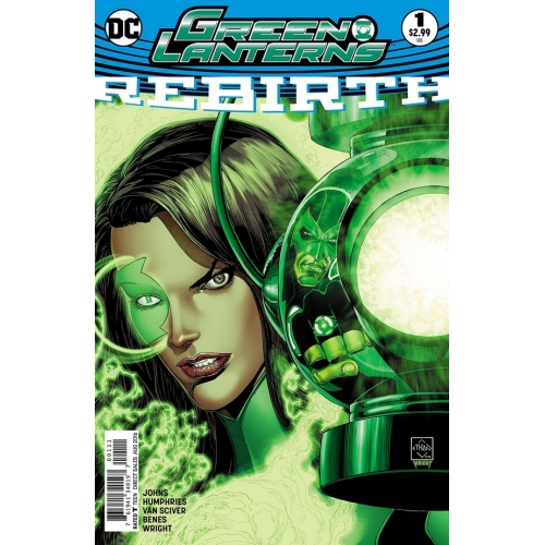 Green Lanterns Rebirth 1 (2nd Print)