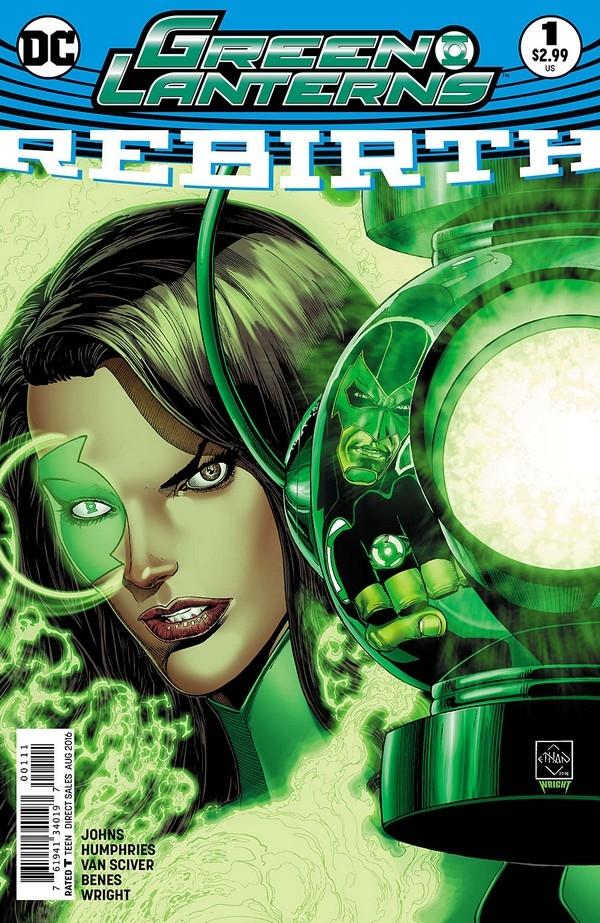 Green Lanterns Rebirth 1 (2nd Print)