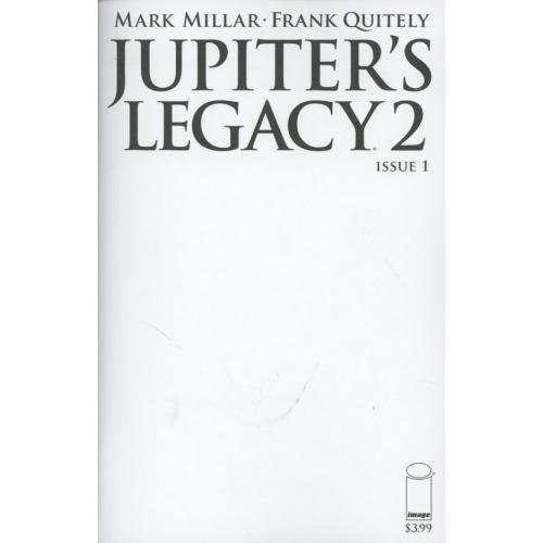 Jupiter's Legacy 2 : 1 (VO) Blank Cover Variant