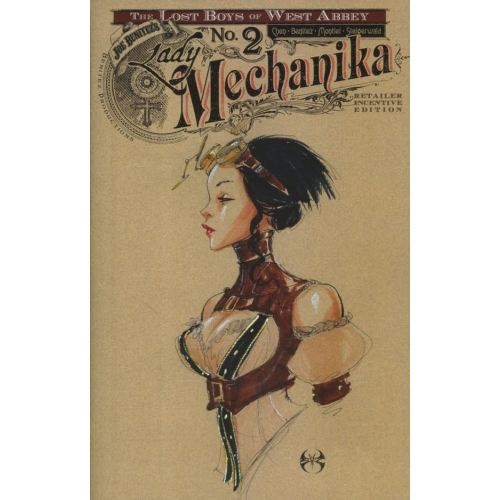 Lady Mechanika The lost boys of West Abbey 2 (of 2) Incentive Cover