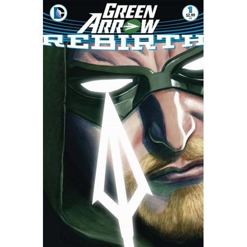 Green Arrow Rebirth 1 (3rd Print)