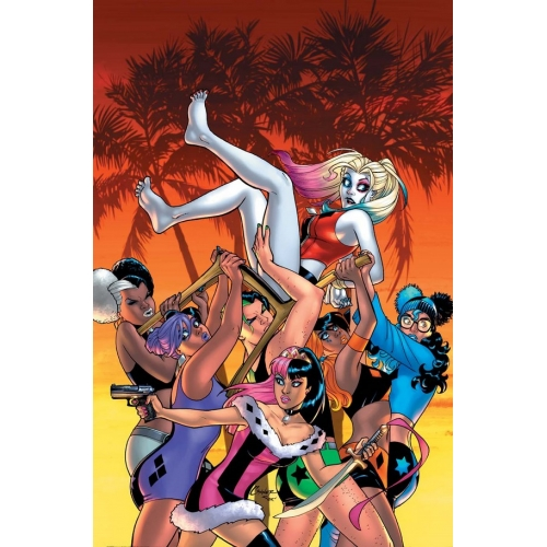 Harley Quinn & her Gang of Harleys 5 (of 6) VO
