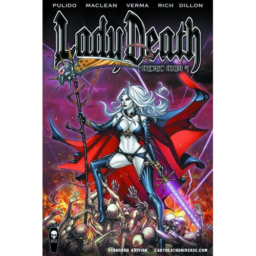 Lady Death : Damnation Game 1
