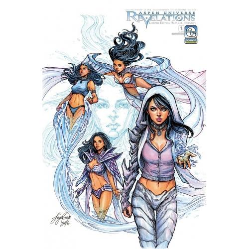 Aspen Universe Revelations 1 (D) Siya Oum Retailer Incentive Cover (VO)