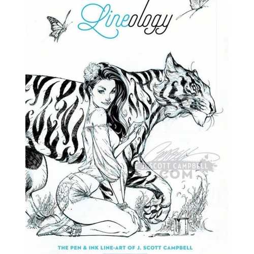 Lineology - Artbook - J. Scott Campbell (2016)