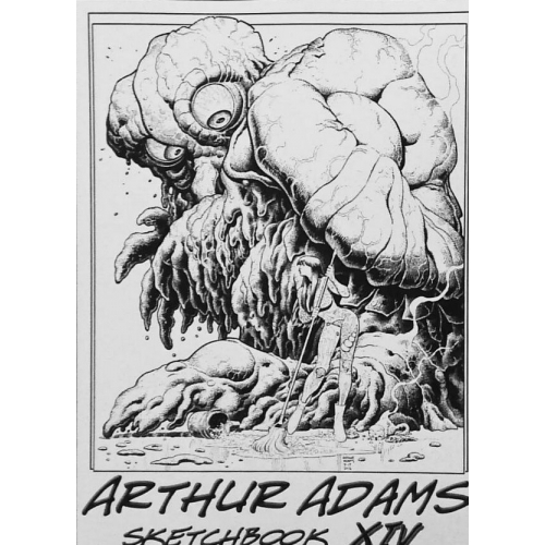 Arthur Adams Sketchbook XIV - San Diego 2016