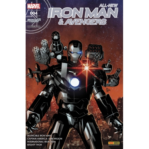 All-new iron Man & Avengers nº4 (VF) (Couverture 2/2)
