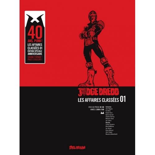 Judge Dredd : Affaires Classées tome 1 (VF)