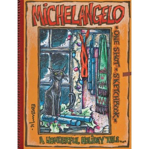 Teenage Mutant Ninja Turtles : The Kevin Eastman Notebook Serie : Michelangelo (VO)