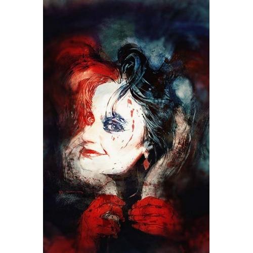 Harley Quinn 1 Bill Sienkiewicz Variant Cover