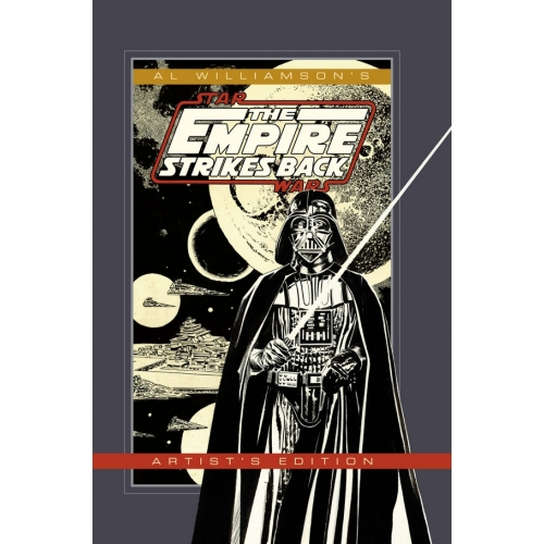AL WILLIAMSON STAR WARS EMPIRE STRIKES BACK ARTIST ED HC (VO)