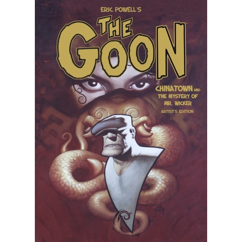 ERIC POWELL'S THE GOON CHINATOWN ARTIST ED HC (VO)