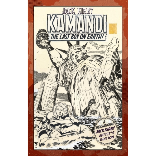 JACK KIRBY KAMANDI ARTIST ED HC VOL 01 (VO)