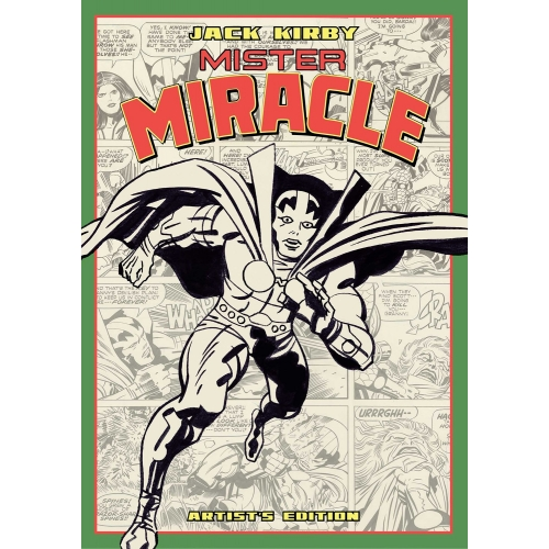 JACK KIRBY MISTER MIRACLE ARTIST ED HC (VO)