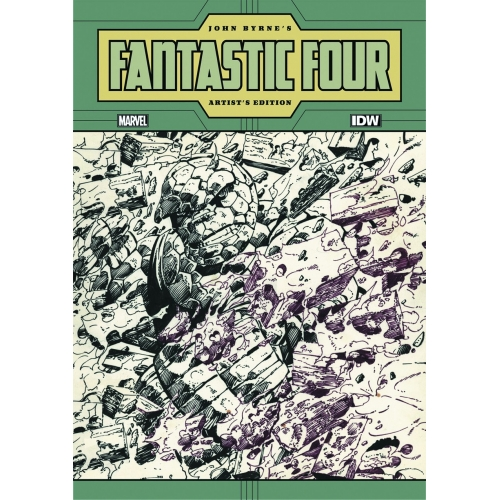 JOHN BYRNE FANTASTIC FOUR ARTIST ED HC (VO)