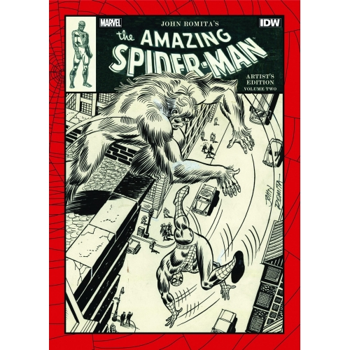 JOHN ROMITA AMAZING SPIDER-MAN ARTIST ED HC VOL 02 (VO)
