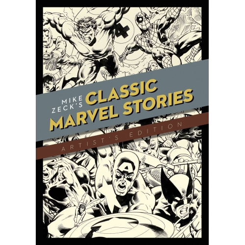 MIKE ZECK CLASSIC MARVEL STORIES ARTIST ED HC (VO)