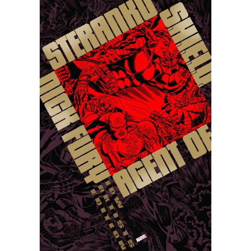 STERANKO NICK FURY AGENT OF SHIELD ARTIST EDITION HC 2ND ED (VO)