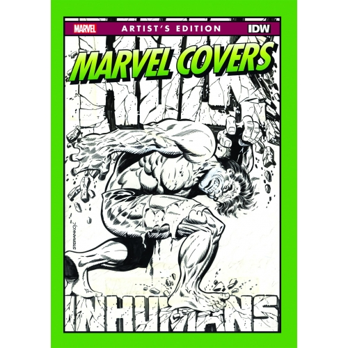 MARVEL COVERS ARTIST EDITION HC 2ND PTG (VO)