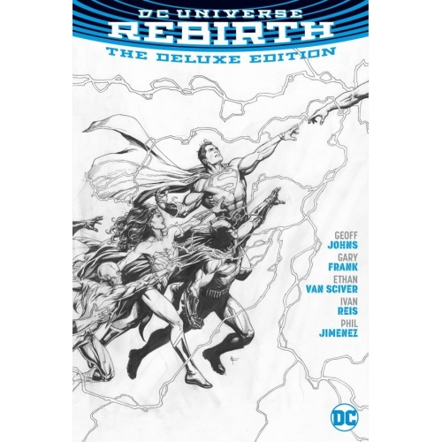 DC Universe Rebirth Deluxe Edition HC