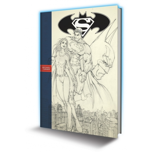 Superman Batman Michael Turner Gallery Edition