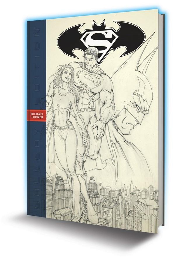 Superman Batman Michael Turner Gallery Edition