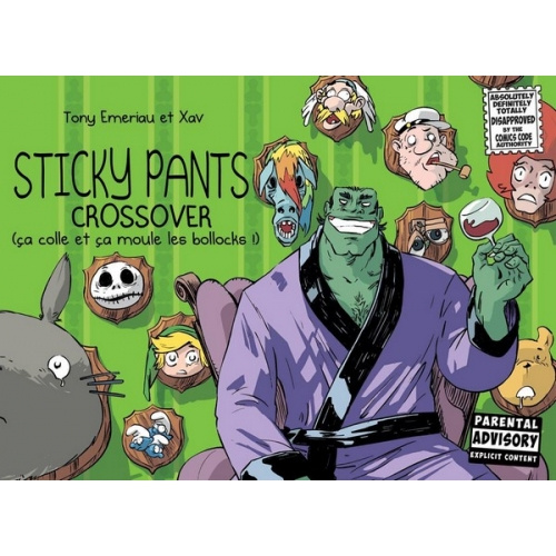 Sticky Pants Crossover Tome 3 (VF)