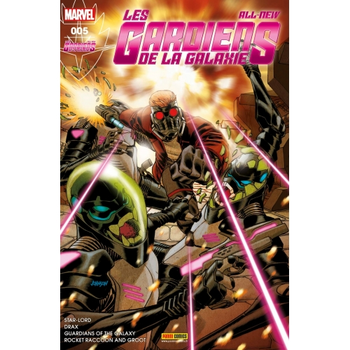 All-new les Gardiens de la Galaxie nº5 (VF)