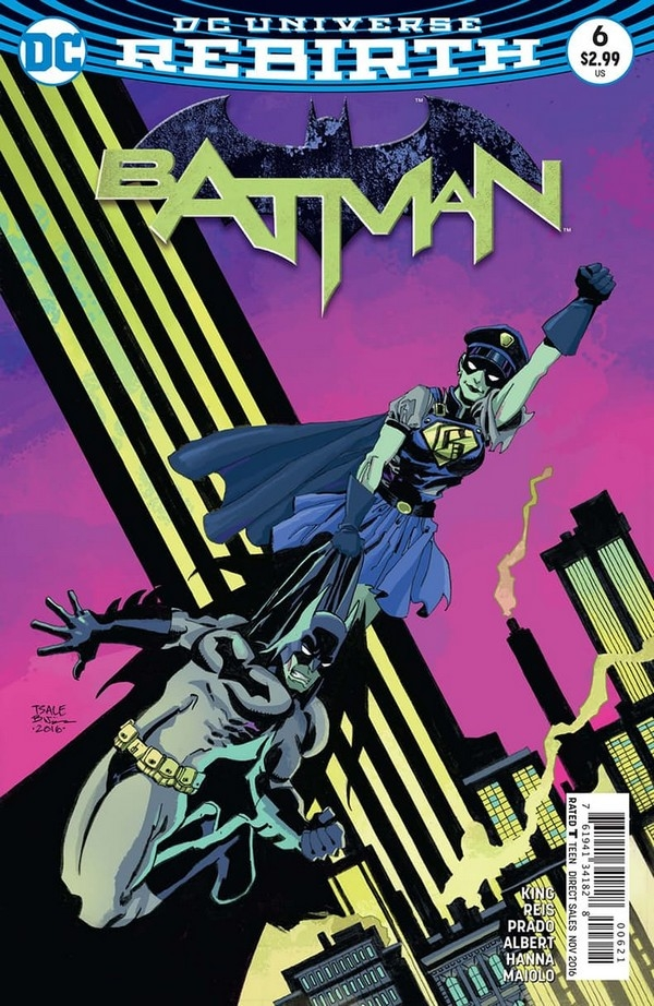 Batman 6 Tim Sale Variant Cover