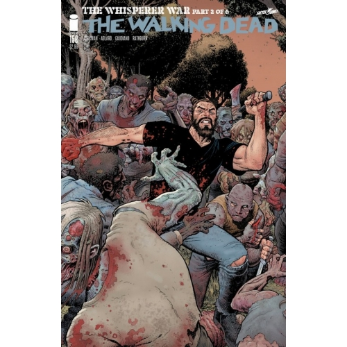 Walking Dead 158 Art Adams Cover (VO)