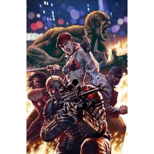 Suicide Squad 2 Lee Bermejo Cover (VO)