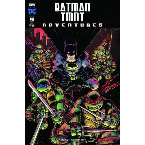 Batman / TMNT Adventures 1 (VO) Subscription Var B - Kevin Eastman