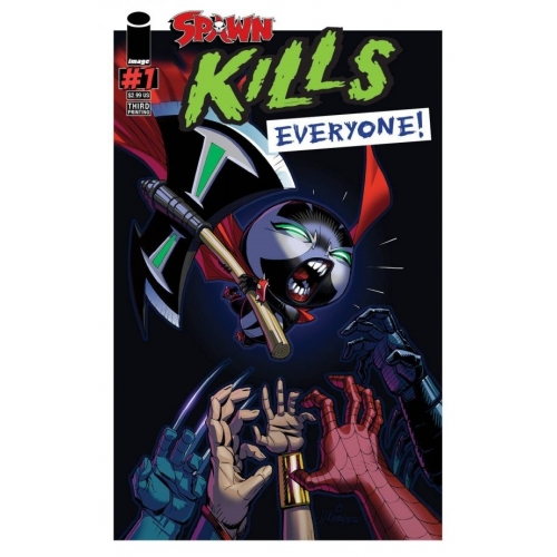 Spawn Kills Everyone 1 (VO) 3nd Print