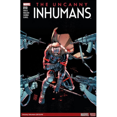 All-new inhumans n°7 (Couverture 2/2) (VF)