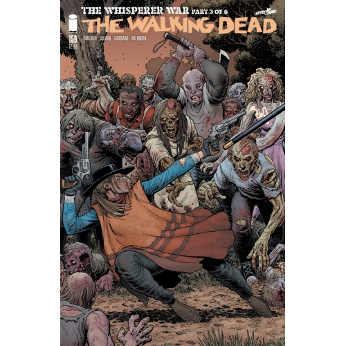 Walking Dead 159 Arthur Adams Cover (VO)