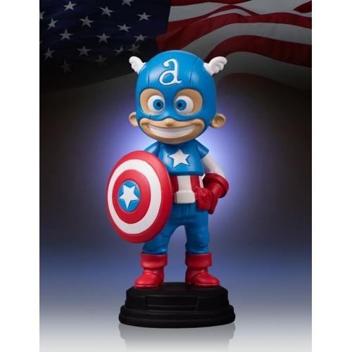 Figurine Gentle Giant Animated Statue Skottie Young : Captain America