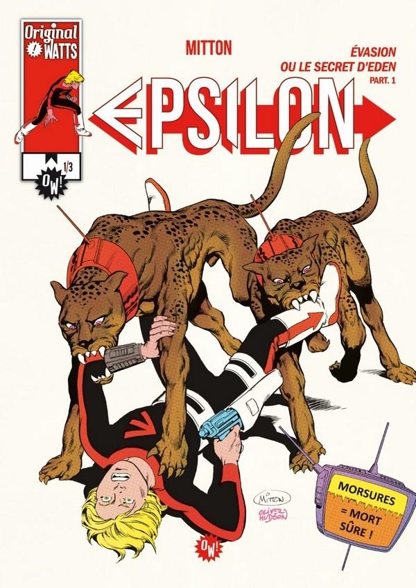 Epsilon : Enfer en Eden tome 3 (VF)