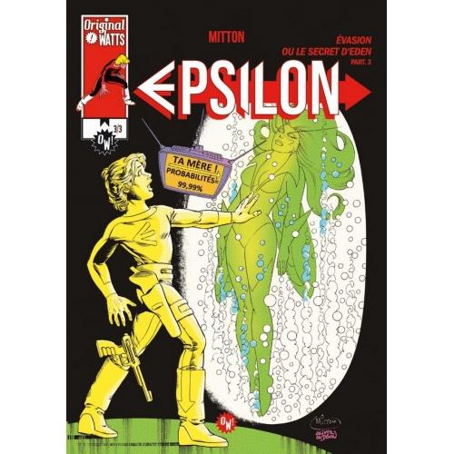 Epsilon : Evasion ou le Secret d'Eden tome 3 (VF)
