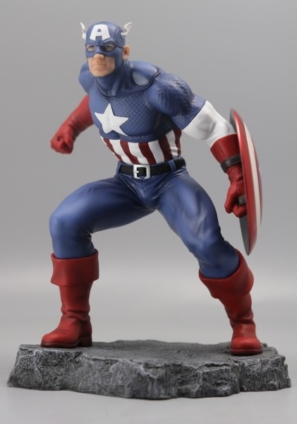 Iron Man - Civil War - Semic Action Statue
