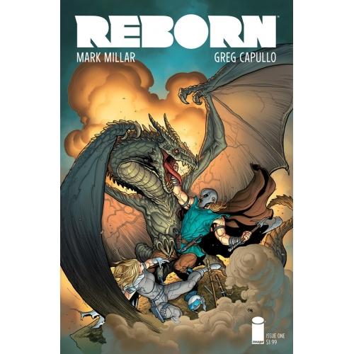 REBORN 1 Frank Cho Cover (VO) Mark Millar - Greg Capulllo