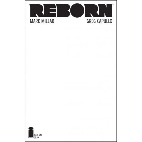 REBORN 1 Blank Cover (VO) Mark Millar - Greg Capulllo