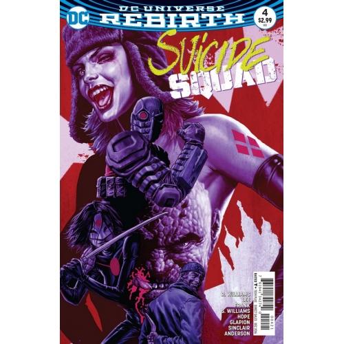 Suicide Squad 4 Lee Bermejo Cover (VO) Jim Lee