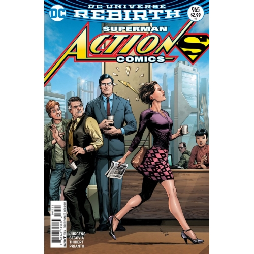 Action Comics 965 Gary Frank Cover (VO)